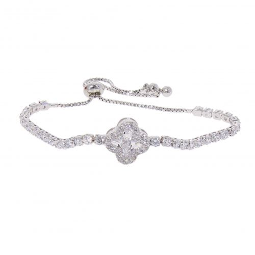 Crystal of zirconium women Bracelet, VIOLETTE