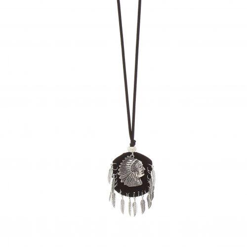 Bohemian Langen Damen-Halskette mit inder, EFFY