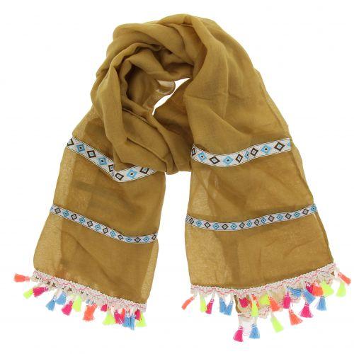 Tassel women's scarf, EVINA