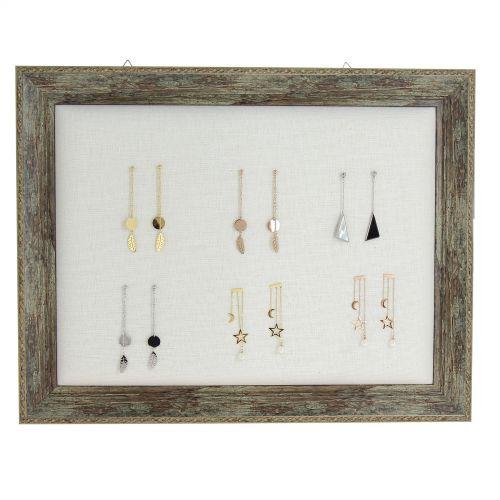 Cadre, présentoir à bijoux 450/350