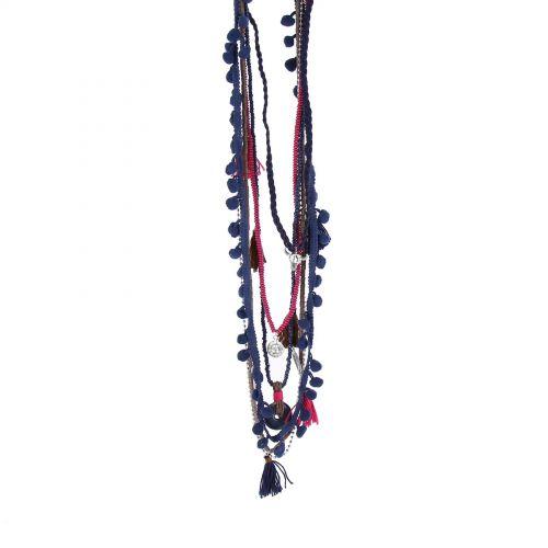 "Lange Halskette 80 cm ""Buddha Kopf"" MARGOT"