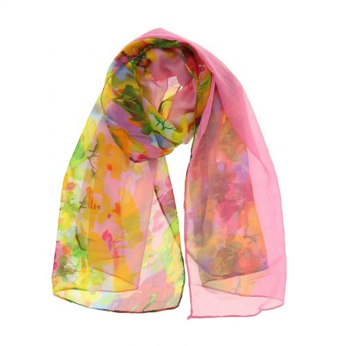 Woman's Scarf, silk imitation, CHIARA