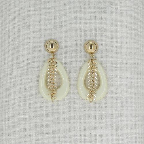 Boucles d'oreilles pendantes VICKY