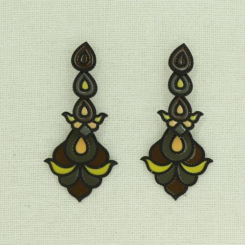 Boucles d'oreilles pendantes RONJA