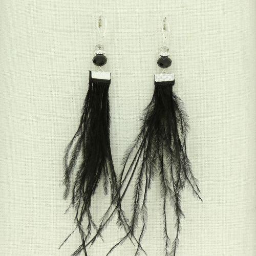 Boucles d'oreilles à plumes MIRAY