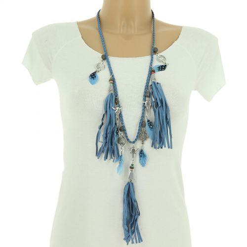 Bohemian Perlen Langen Damen-Halskette Stierkopf, FLAVIA