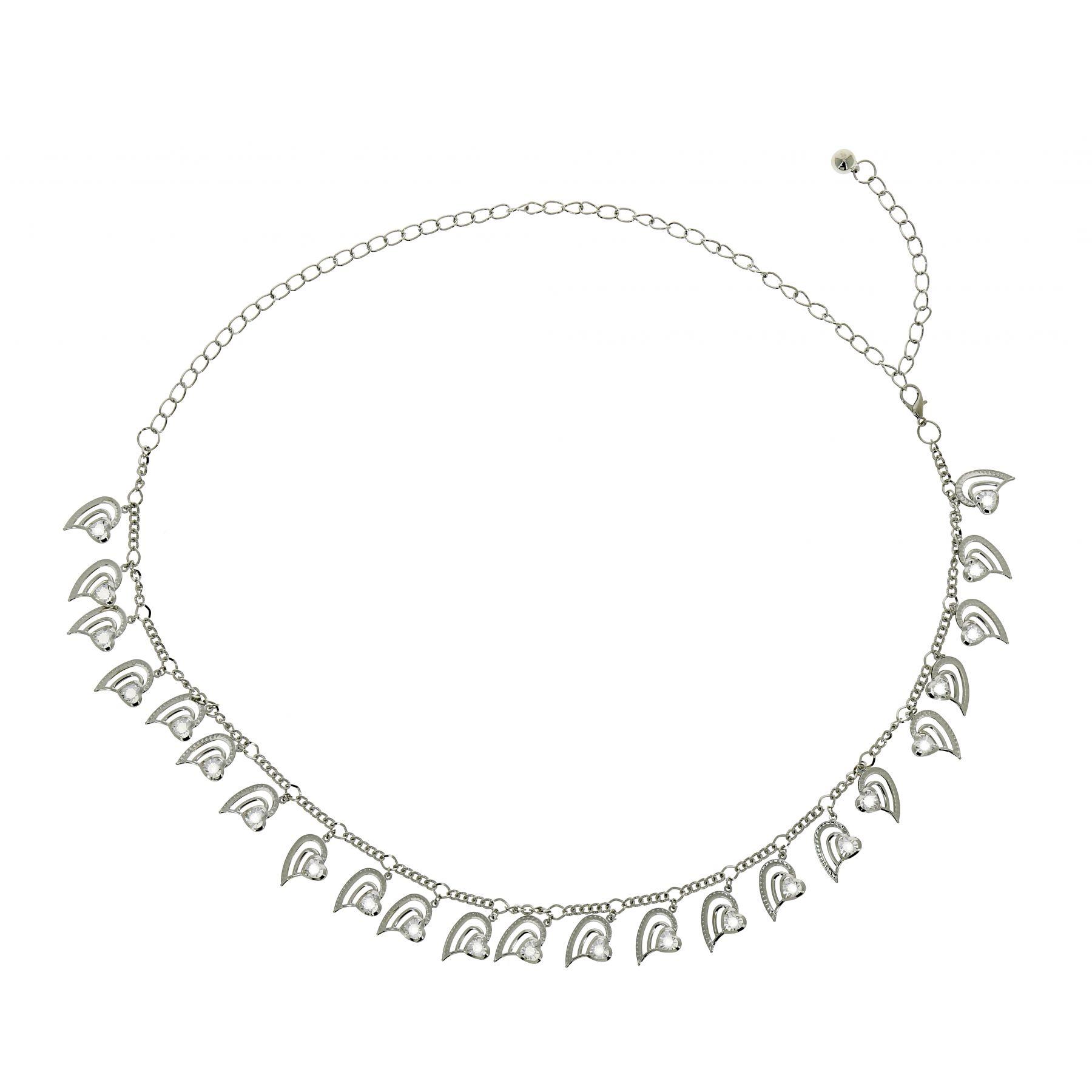 Ceinture chaîne à coeur pour femme PAOLINI. Loading zoom 0e32b16bc49