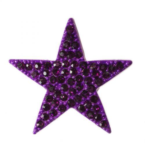 Bague métal étoile XL, BA16