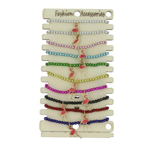 10 x elastische Armbänder