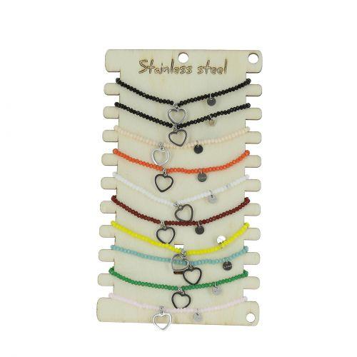 12 x Armbänder Hand von Fatima sortierten Farben, BR58-707
