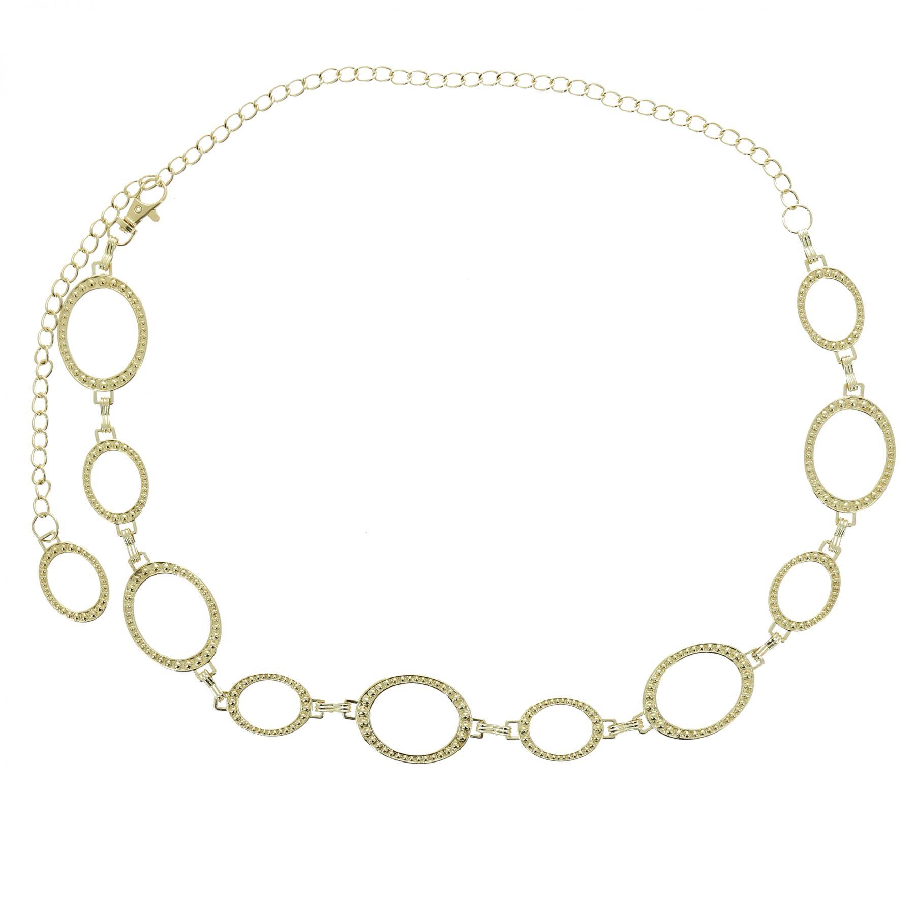 Ceinture chaîne médaillon pour femme LAURRAINE. Loading zoom 2619b1d1fa9