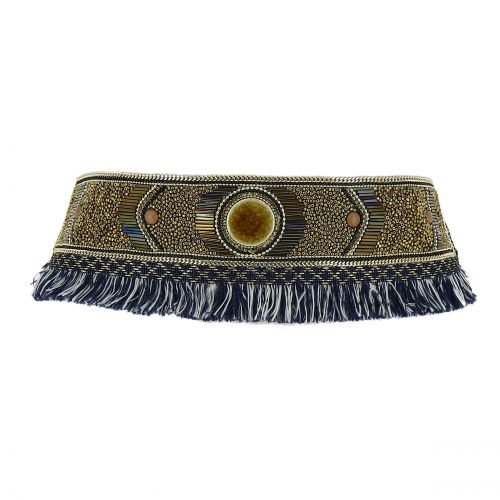CYRIANE Extra wide bead belt