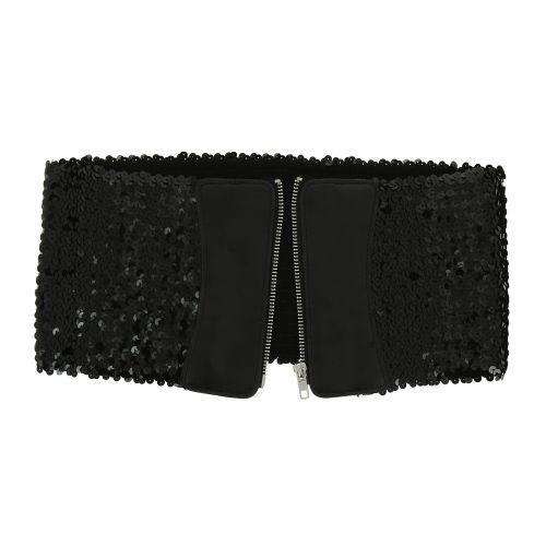 Sequin Wide Waist Elasticated Woman Corset Belt, XANA