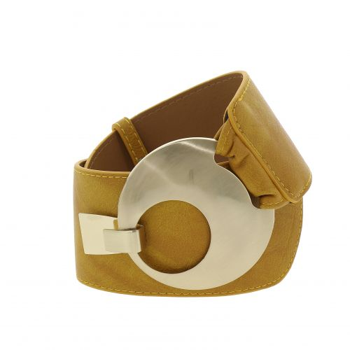 VANESSA leatherette large belt
