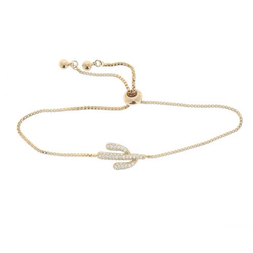 Crystal of zirconium women Bracelet, KSENIA