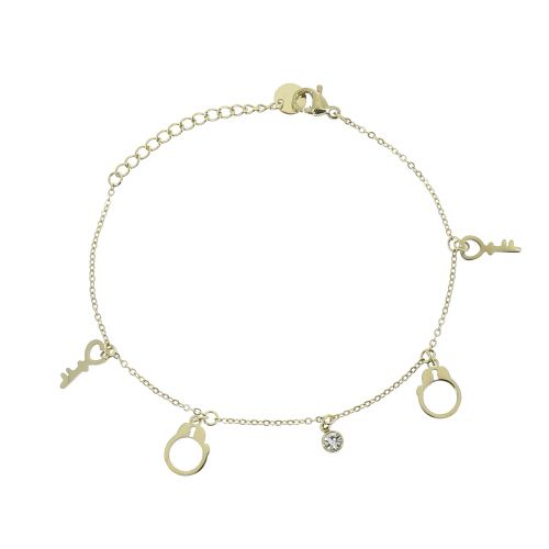 Woman stainless steel bracelet, CRISTIE