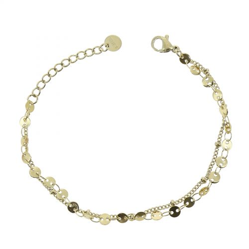 Woman stainless steel bracelet, CONNIE