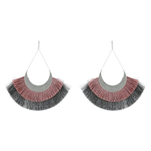 Tassel hanging dangle earring, SHERYL