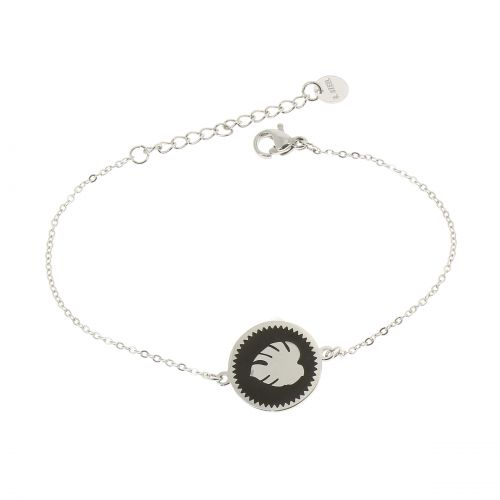 Woman stainless steel bracelet, FLORENCE