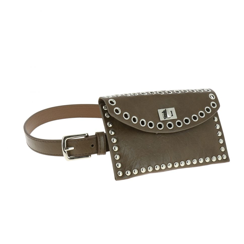 Belt bag with strass for woman, KELLY