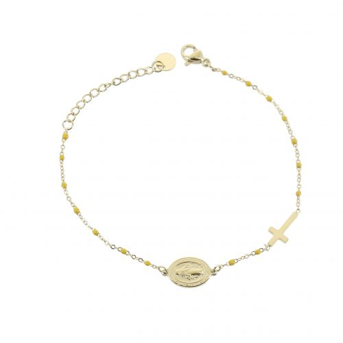 Woman stainless steel bracelet, CHRISTIEN