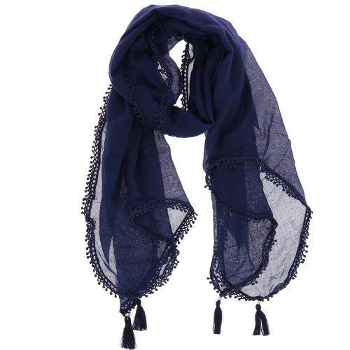 Damen Schal frange baumwolle imitation, RETTYP