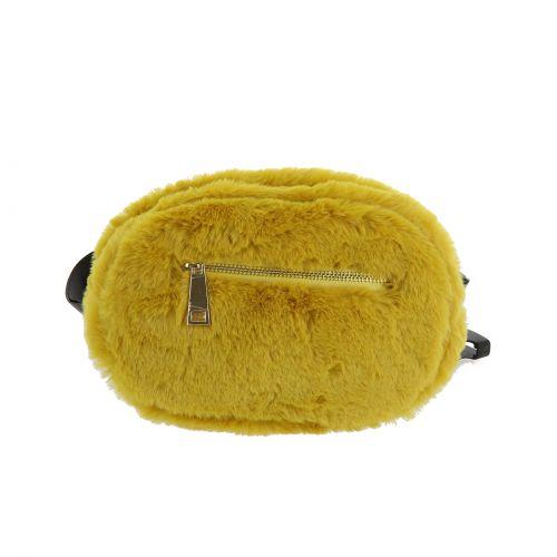 Sac, pochette, banane pour ceinture en fourrure synthétique