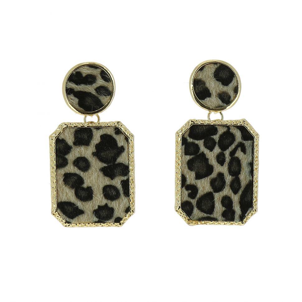 Boucles d'oreilles pendantes Panthere MARK