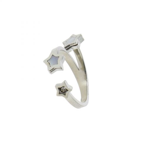 Ring stainless steel JULIA