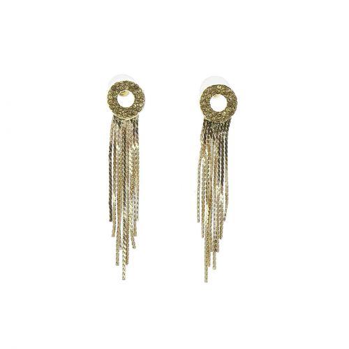 Long dangle earrings, SARA