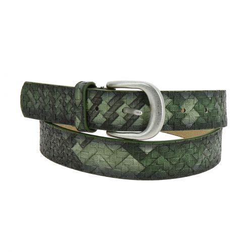 Cinturón de cuero Ghjulia