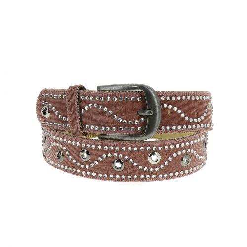 GHJULIA, leather lined belt