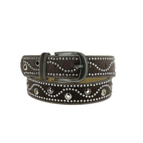 Woman leather lined belt, GHJULIA