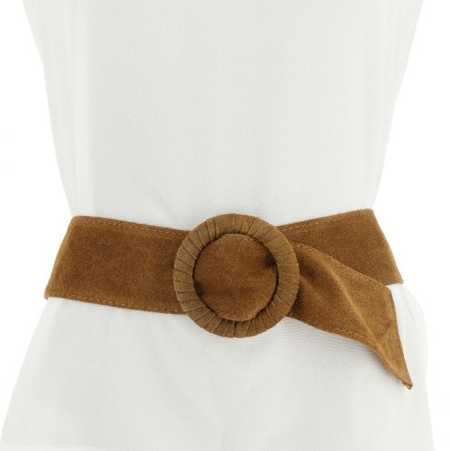 velluto larga cintura in pelle MAHAUT