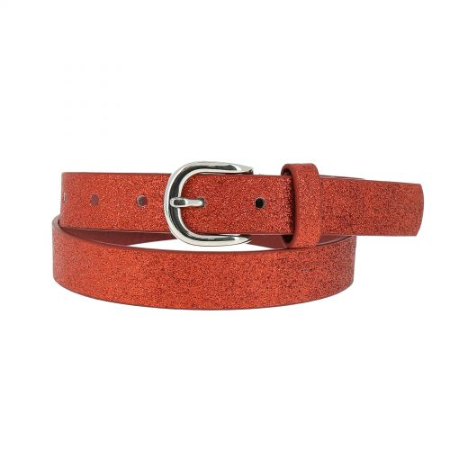 Wide Waist Elasticated Woman Belt, strass buckle, CARLA