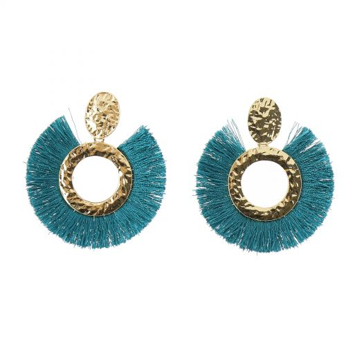 Tassel hanging dangle earring, IMANE