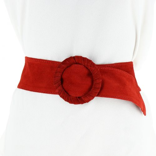 Cinturón de cuero genuino MAHAUT