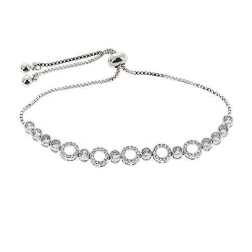 Woman stainless steel bracelet, ELENA
