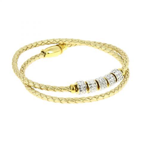 Stainless steel infinite bracelet, LYWENN