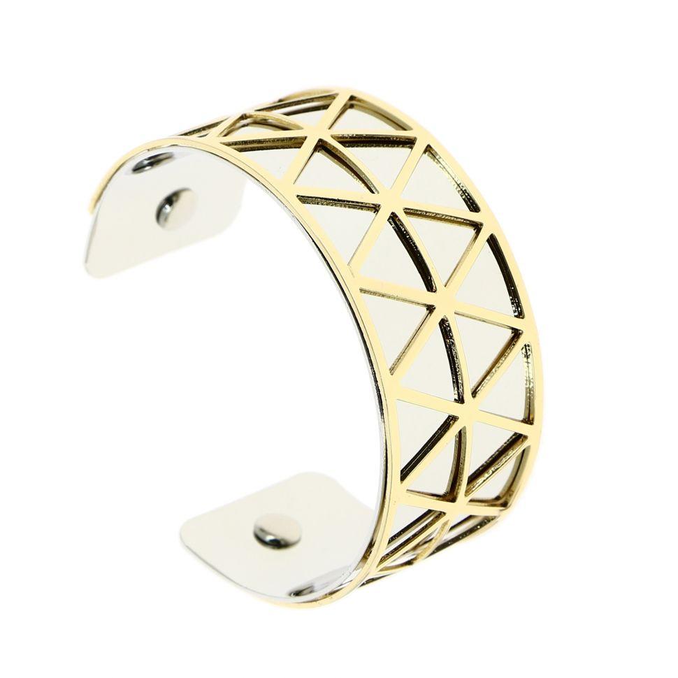 Bracelet manchette métal LAURA