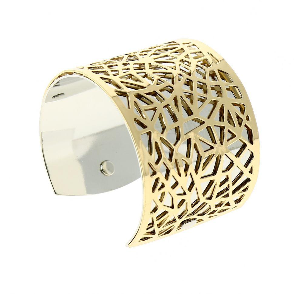 Bracelet manchette métal KAOUTAR