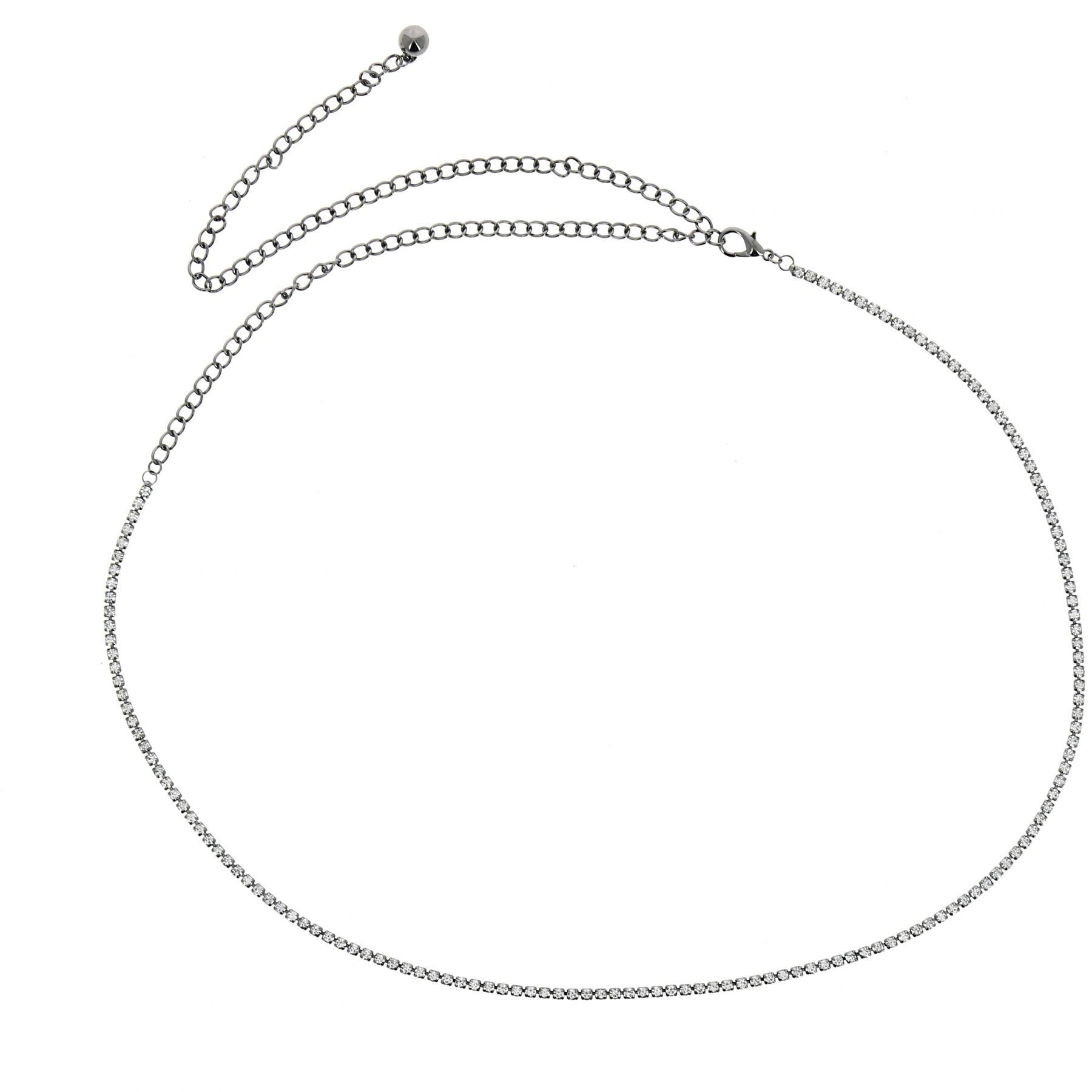 Ceinture chaîne, chaîne de corps strass ENEA b367faa8714