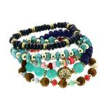 Bracelet femme ethnique extensible à perles, LISA