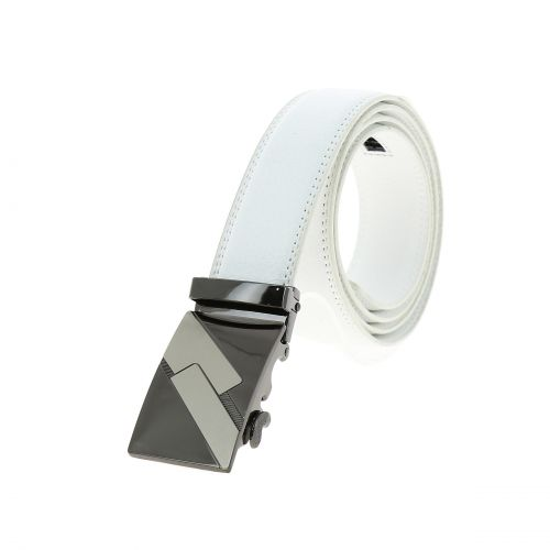 Leather Automatic Buckle Belt JULIEN