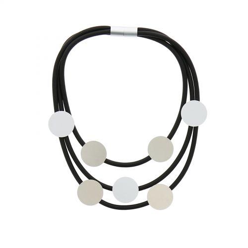 Gummi Lange Damen-Halskette, TUANA