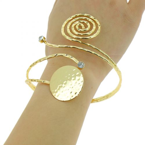 Bracelet manchette métal IRINA