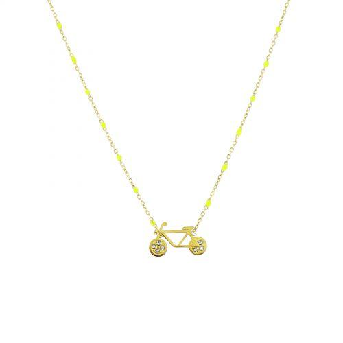 JOSETTE Crystal pendant necklace