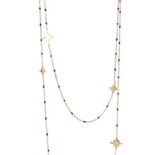 Sautoir, collier pour femme Anis étoile, ALZIRA
