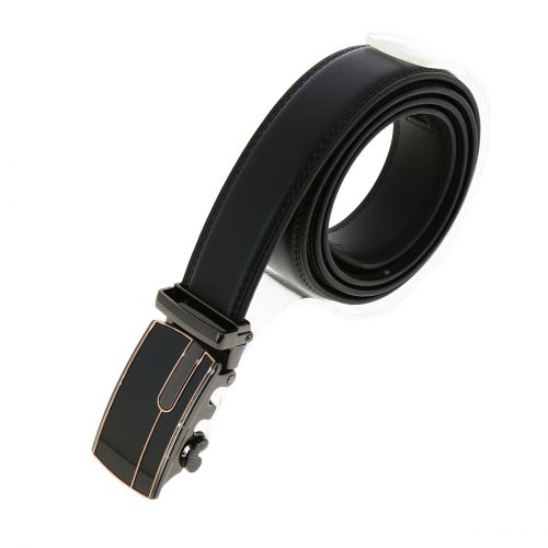 Leather Automatic Buckle Belt HUGO