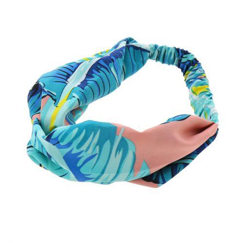 Woman printed confortable, headband, hairband KATI
